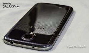 Galaxy S4 rear