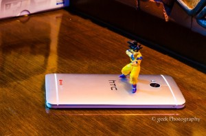 HTC One hadouken DragonBall Z