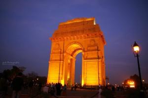 India-gate-delhi-night