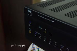NAD c 356BEE amplifier