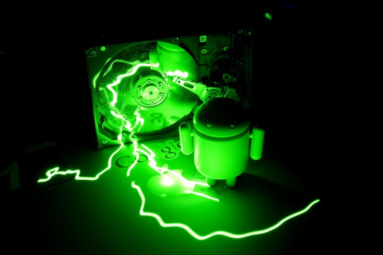 Green LASER Light-Painting