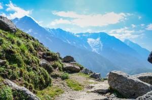 himalayas landscape triund