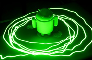 laser green android