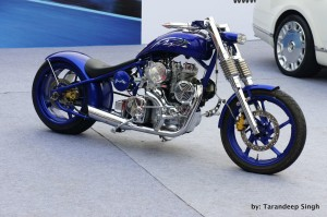 modified hybrid super cruiser bike