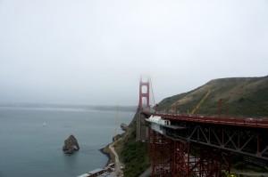 sf golden gate foggy