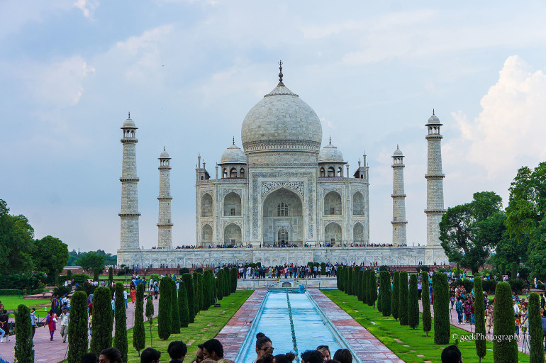 Taj Mahal Photography by first time DSLR user Mom