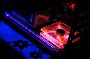 UV light Fan