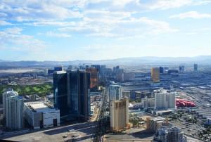 vegas from 107th floor