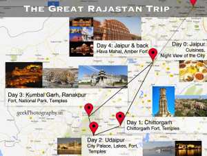 great rajasthan trip