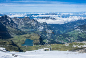 Mount titlis in switzerland
