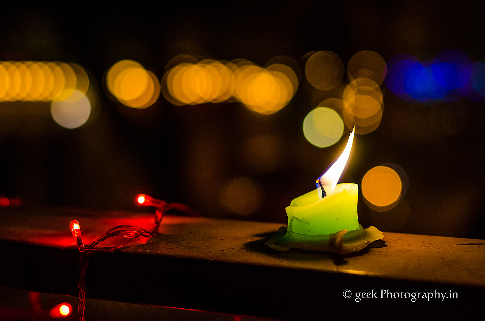 Diwali Lights, Candles, Crackers