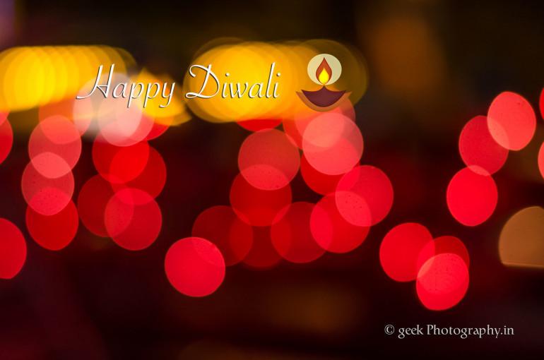 Happy Diwali Bokeh style