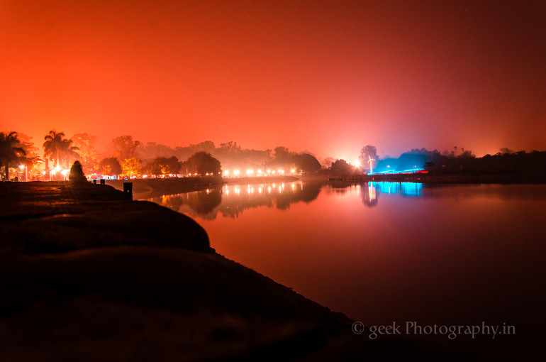 Dawn of Sukhna Lake, Chandigarh