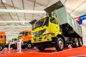 Eicher dumper trucks