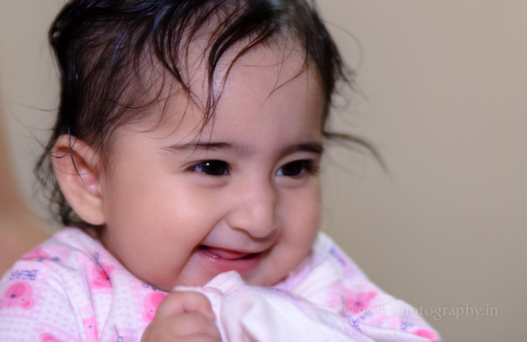 Sweet Indian Baby girl Portrait