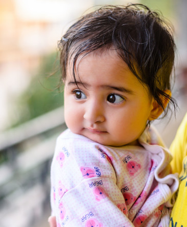 Sweet Indian Baby girl Portrait