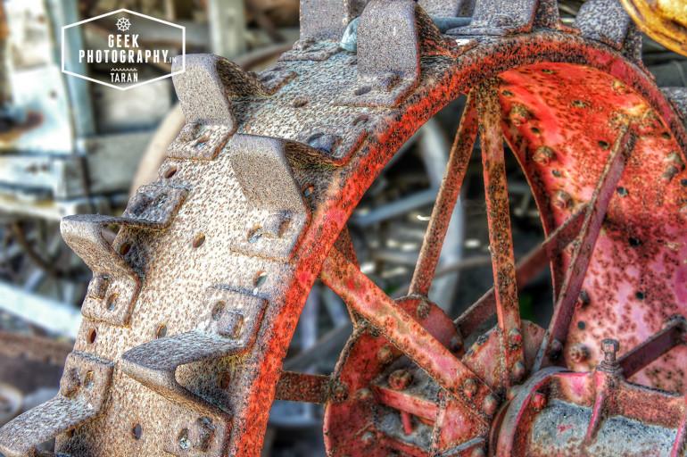 John Deere 1918 Tractor HDR