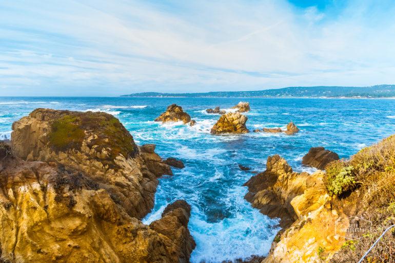 Pt Lobos Sunny California