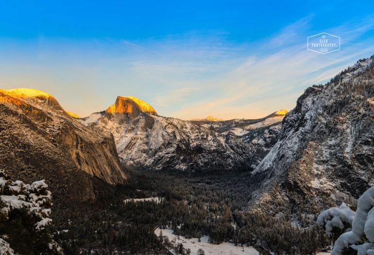 Yosemite Winter Snow, Hikes