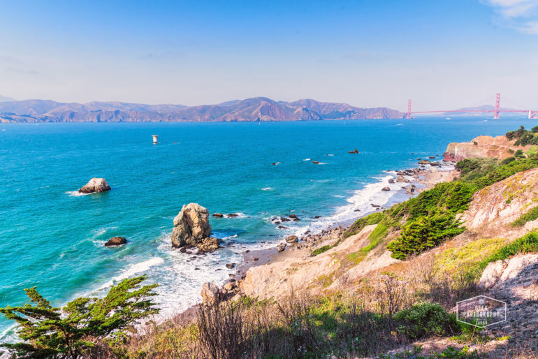Lands End Scenic Hike in San Francisco