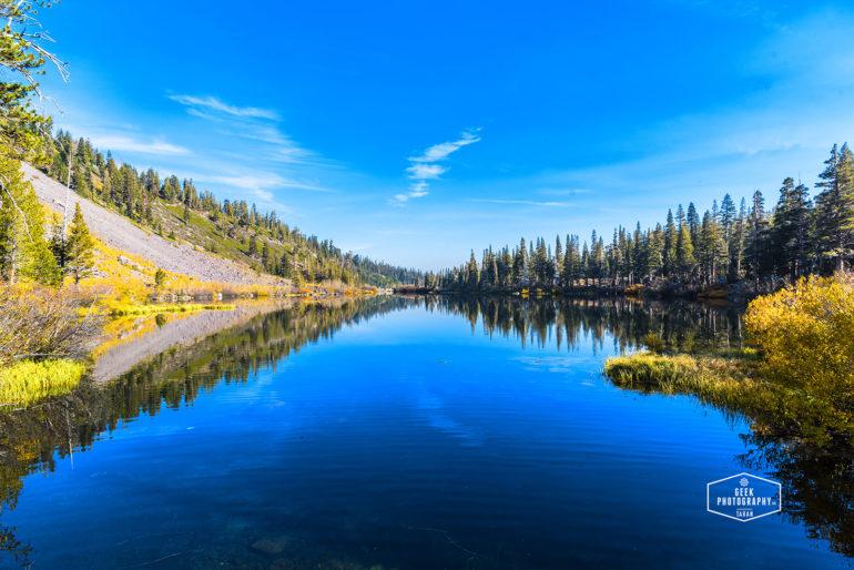 Yosemite Fall colors: Lakes, Mountains